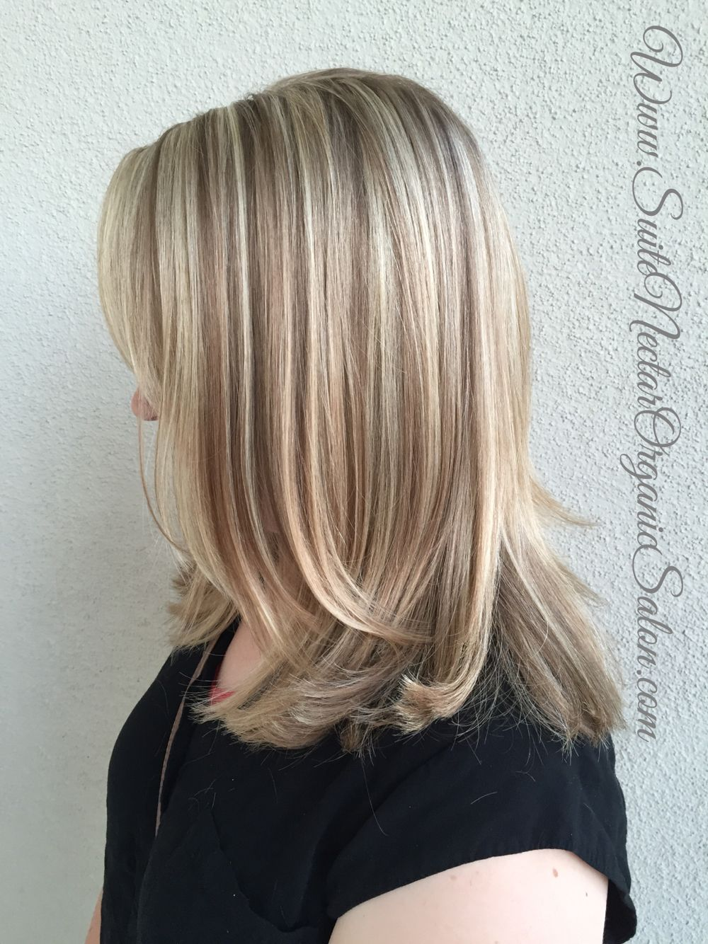 Organic Highlights Blonde Highlights Organic Hair Color