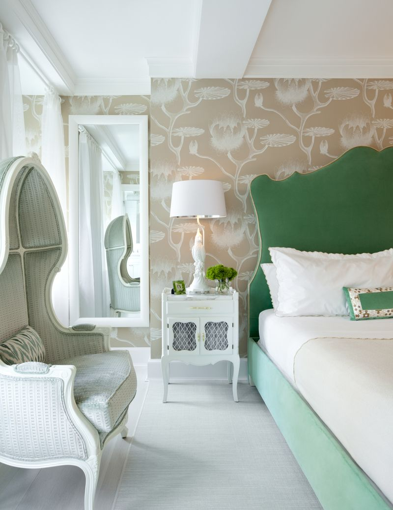 Bedroom in US by Fawn Galli Interiors