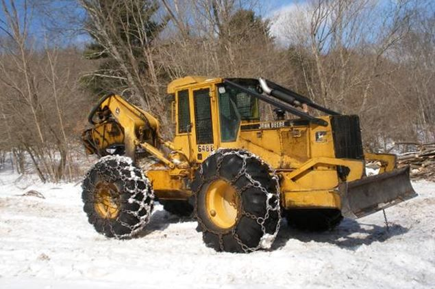 1994 John Deere 648E Skidder | Skidders for Sale | Heavy