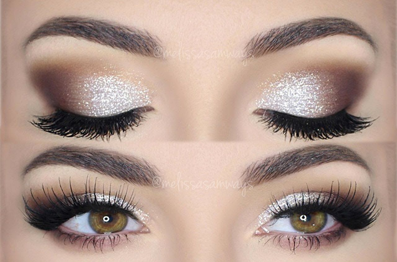 Glitter Pearl ♡ Make Up TUTORIAL Melissa Samways (With