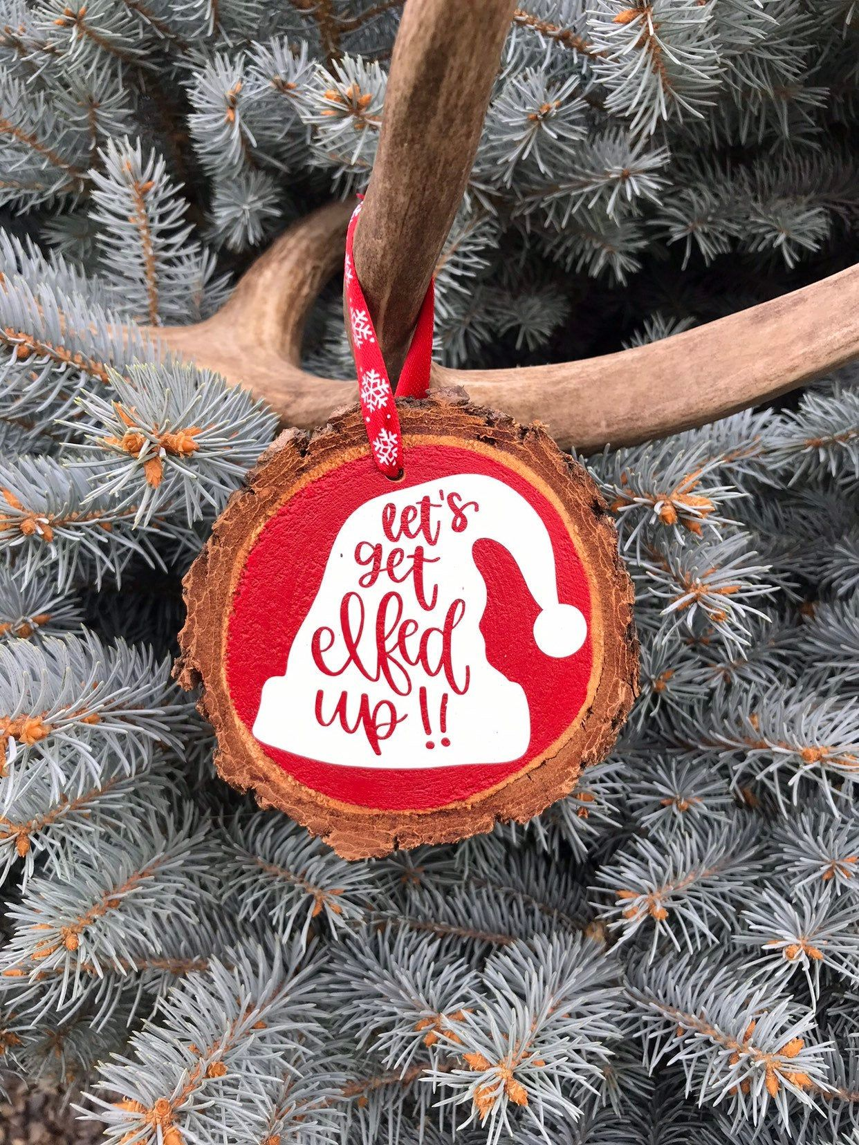 Pin On Wood Slice Ornaments