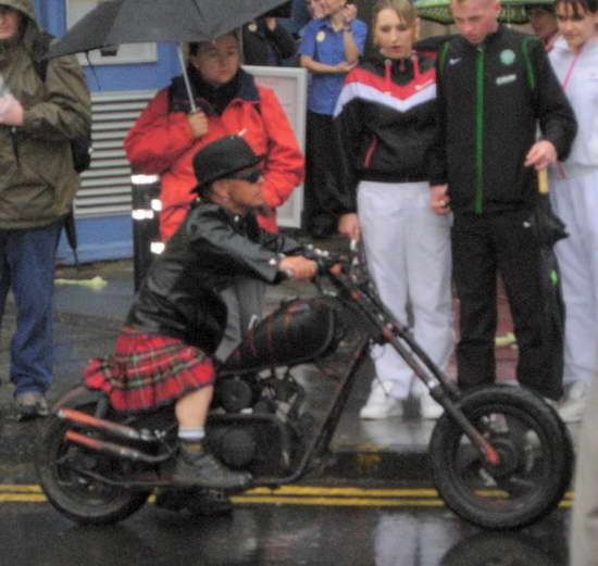 Custom motorcycles for midget people