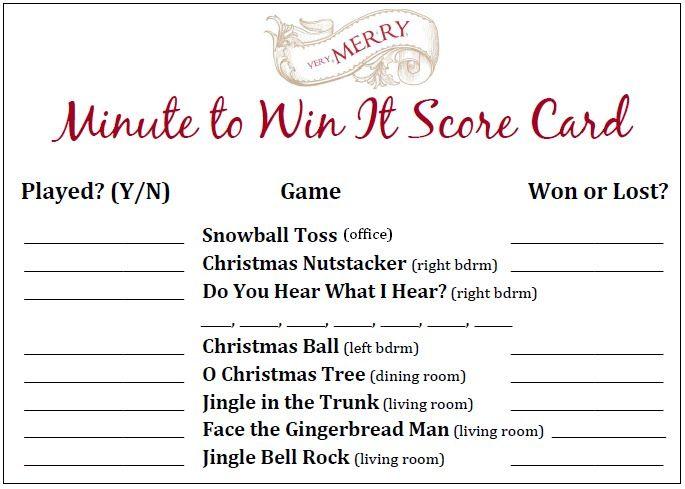 Callie Grace Minute To Win It Christmas Party - Part 1 Unique