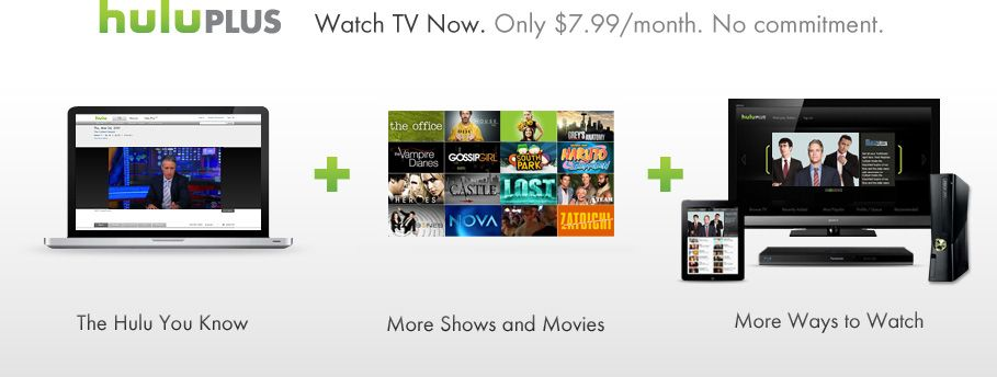 7 99 Mo For A Good Start On Shows It D Work With Our Ps3 Too Watch Tv Shows Hulu Streaming Tv