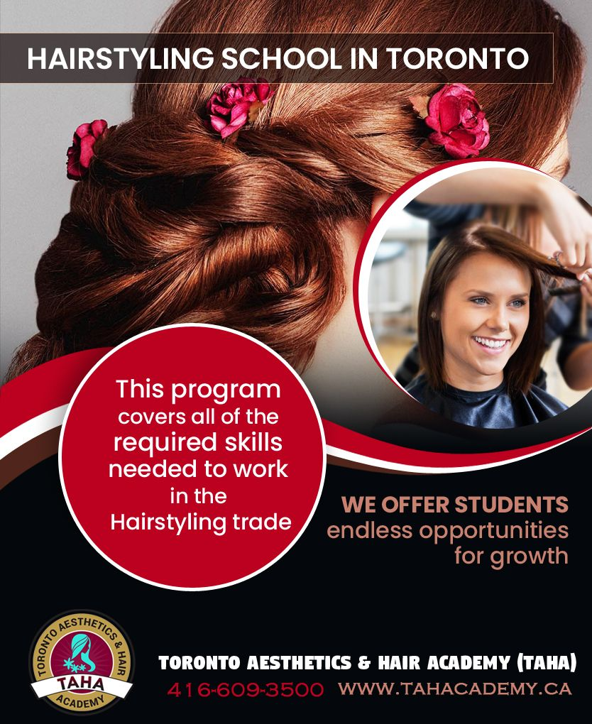 Hair Styling School In Toronto Hairdressing Training Hair Styles Hair Academy