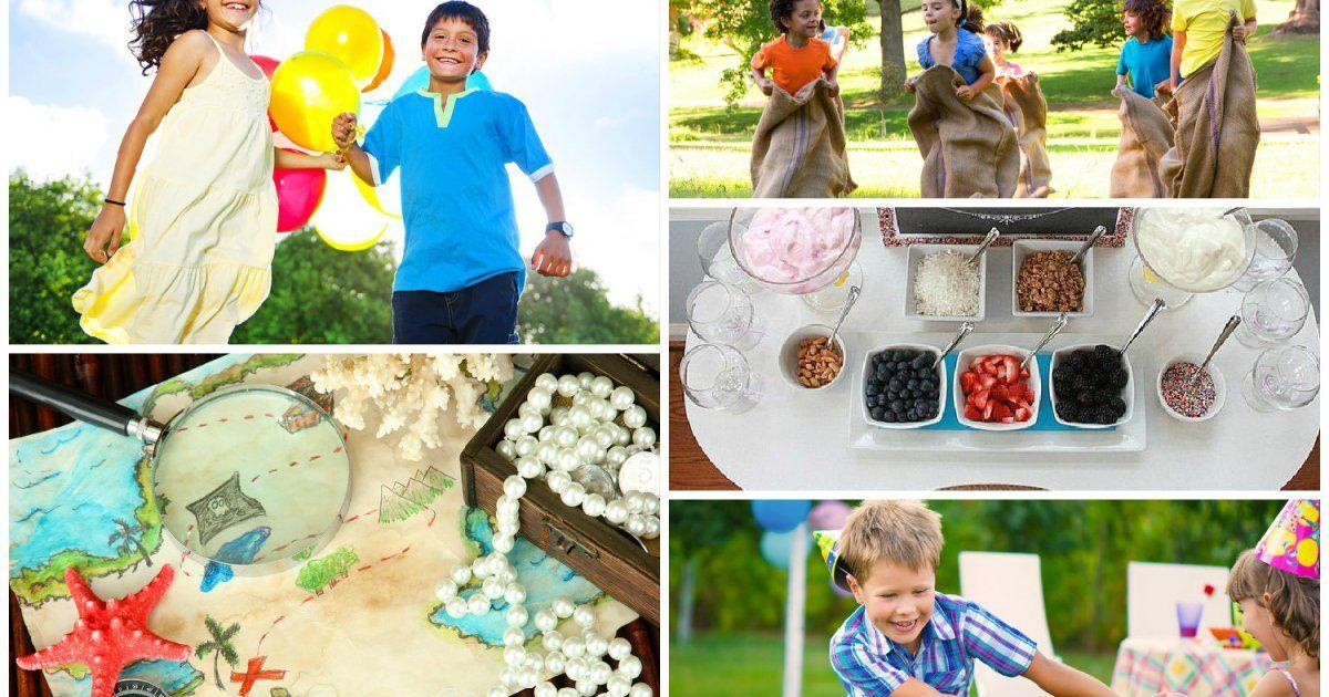 Activités pour des fêtes d'enfants de 7 à 8 ans | Idée jeux anniversaire, Fete enfant et Idée ...