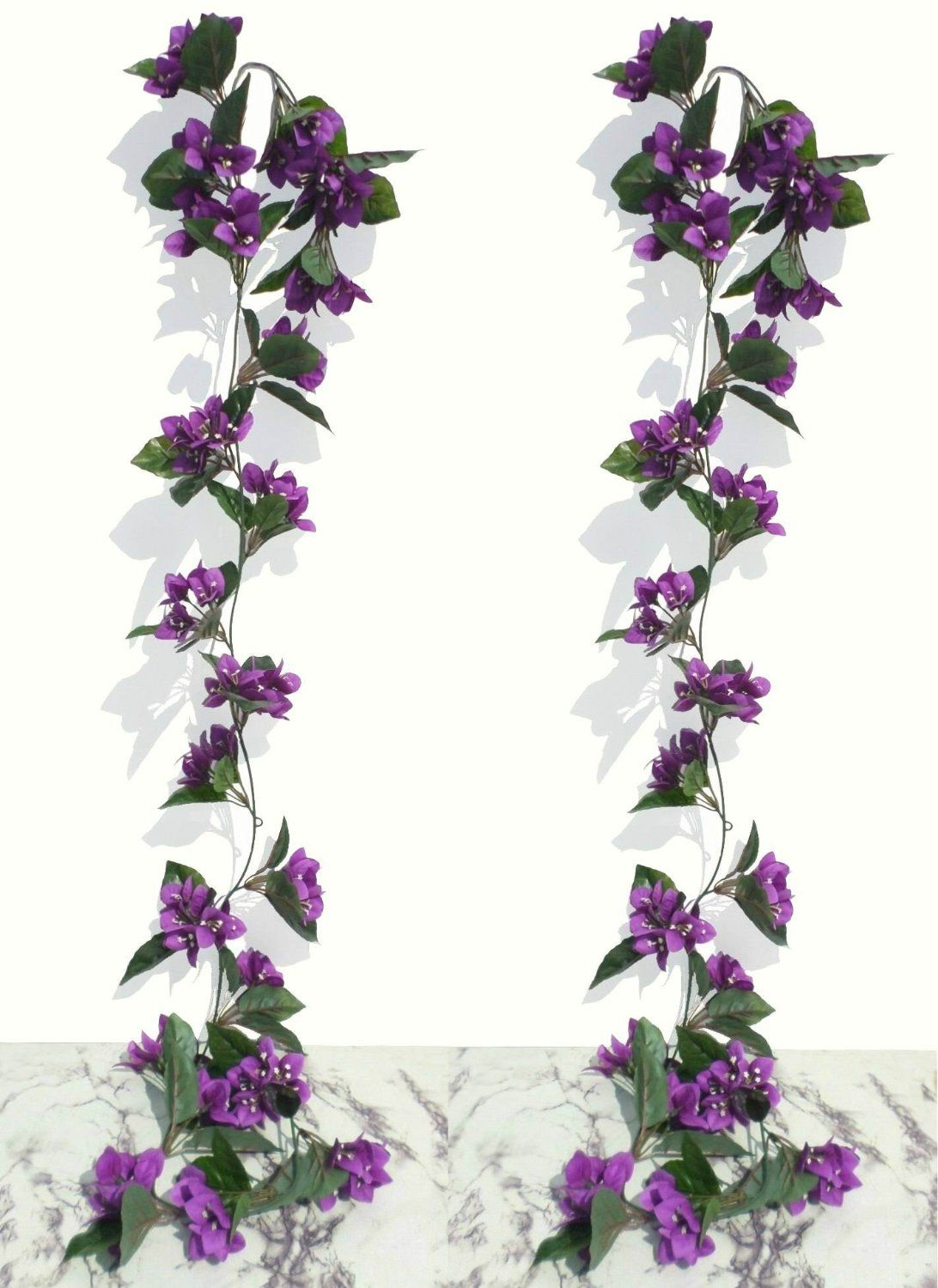 Artificial plants for kitchen - 2 X 6ft Bougainvillea Garlands Artificial Plants Amazon Co Uk Kitchen