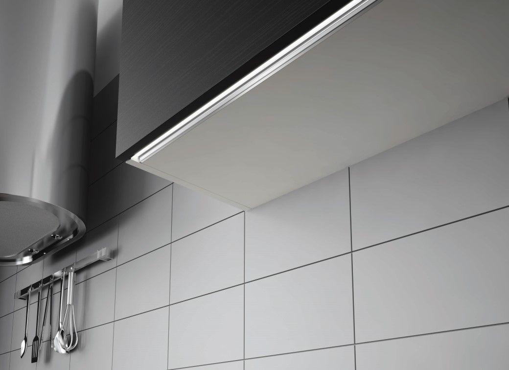Domus Line S Skyline A Combined Led Strip Light Profile And Tldm Master Designed For Milled Groove Installatio Led Strip Lighting Wall Design Strip Lighting