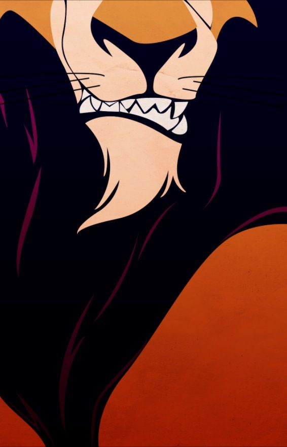 Scar From The Lion King Disney Iphone Background By Petitetiaras Disney Villains Disney Posters Disney Lion King
