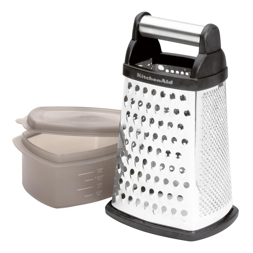 Kitchenaid b ox grater black grater kitchen gadgets