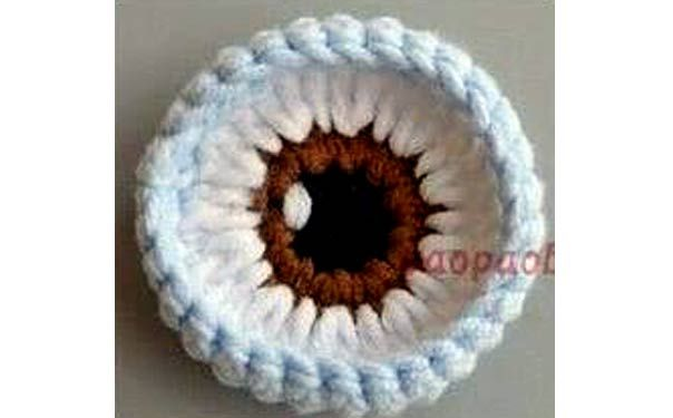 вязаные глаза для игрушек крючком схема игрушки вязание