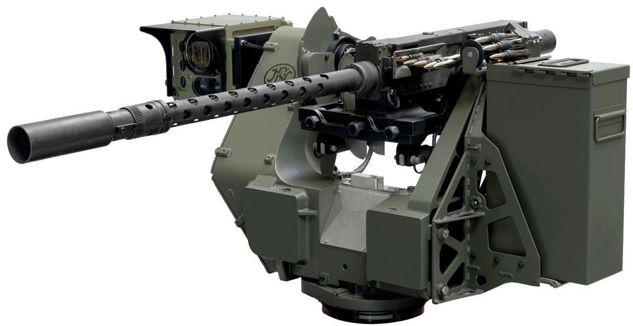 A superior boyz toy...  50 cal FN M3P machine gun