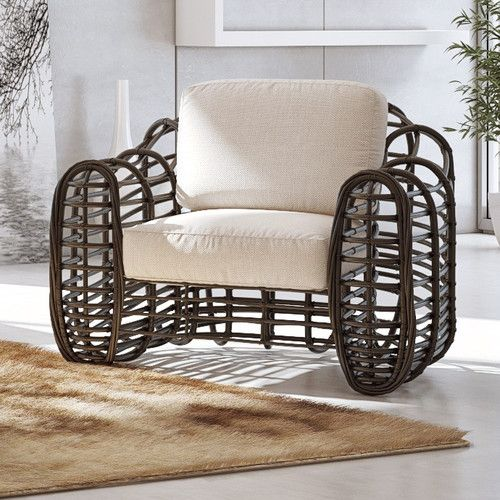 Best Bovina Patio Chair Chair Contemporary Outdoor Lounge 640 x 480