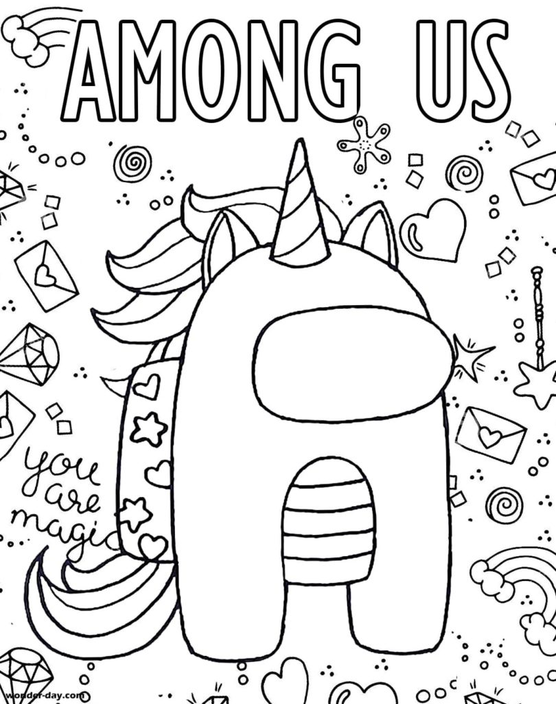 Among Us Coloring Pages Print For Free 100 Coloring Pages Unicorn Coloring Pages Coloring Pages For Kids Coloring Pages