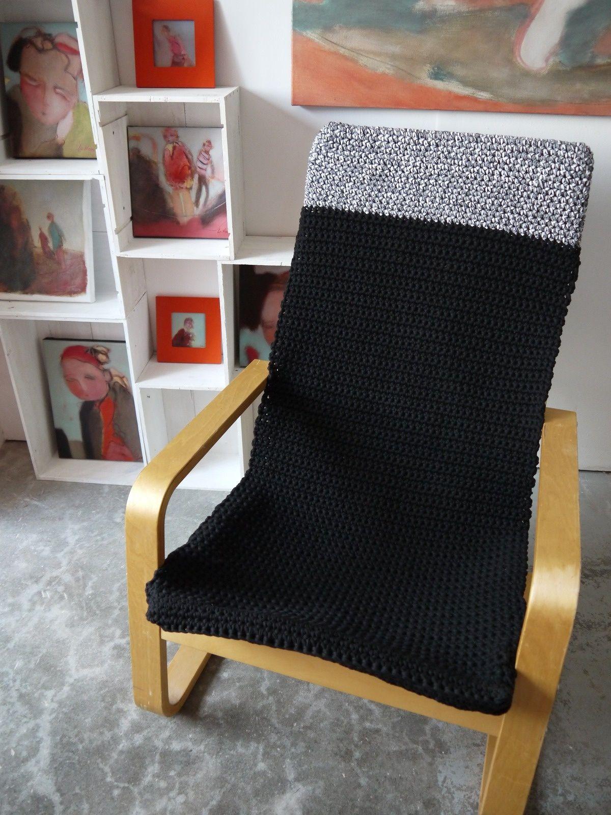 Crochet Housses Fauteuil Et Hoooked