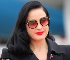 3524e37467c Image result for dita von teese eyewear campaign