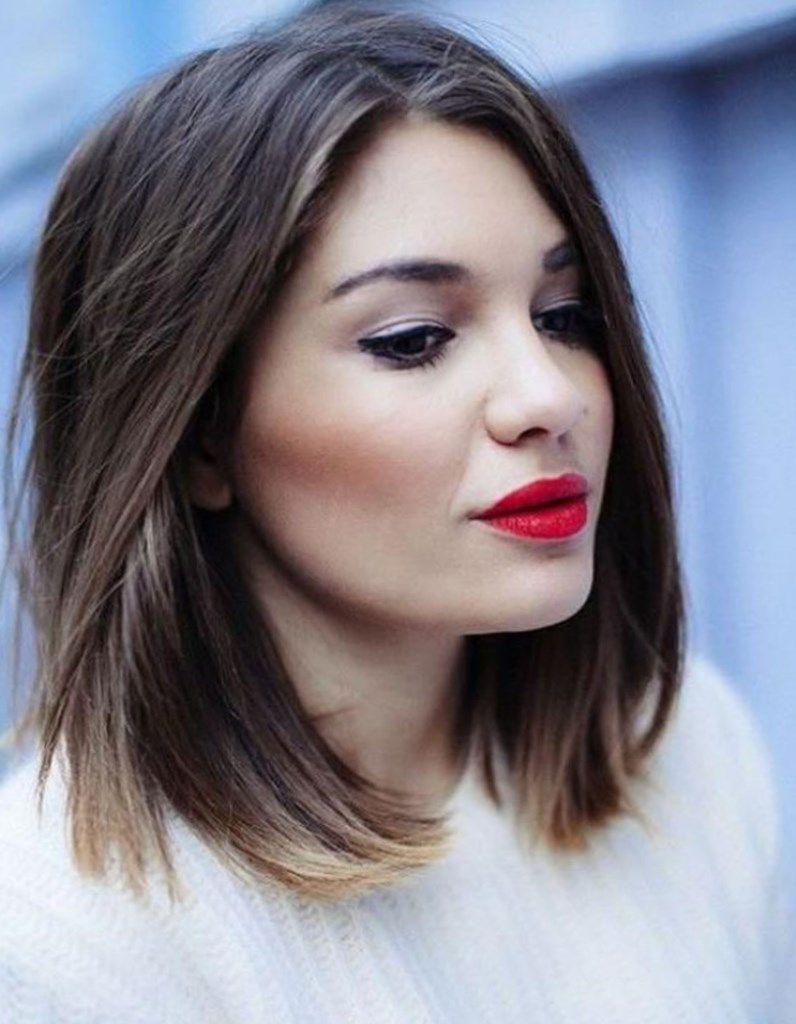 Nice Coupe De Cheveux Femme 2017 Visage Rond Coiffure Mode