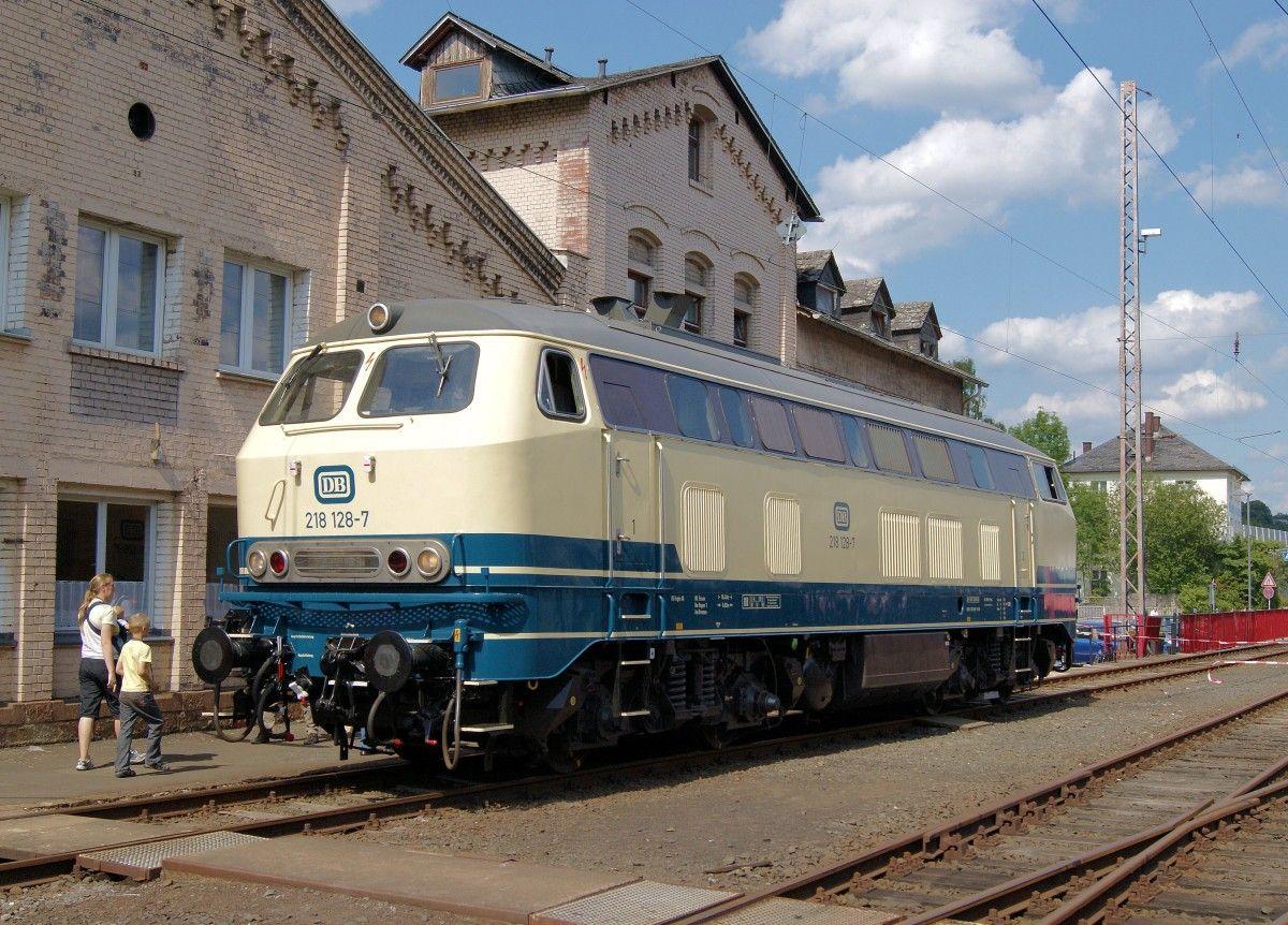 In Game Train Br 218 Db Locomotief Trein Duitsland