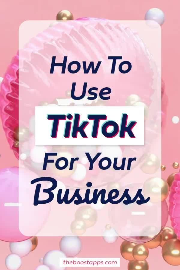 Get your business TikTok famous fast!