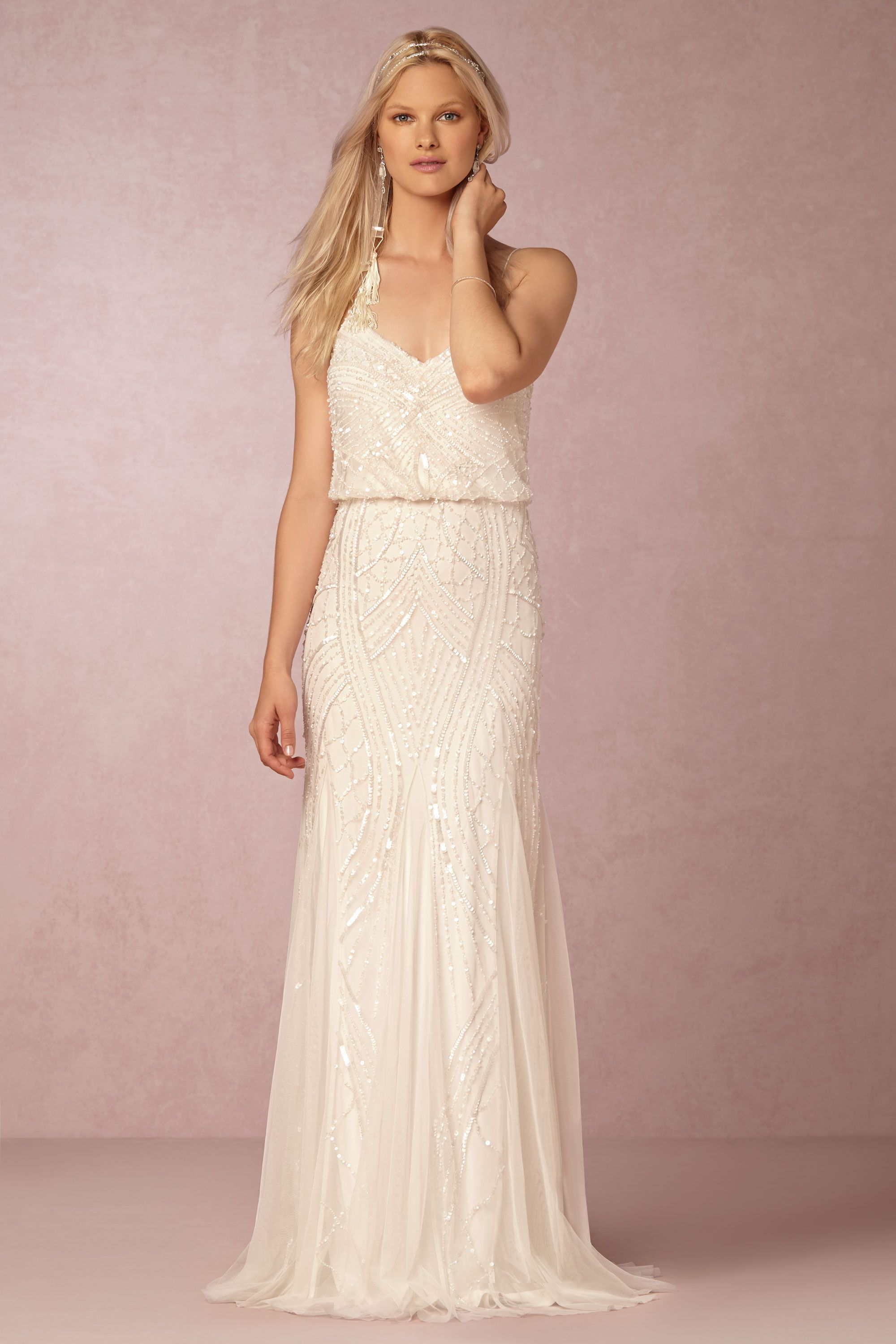 wedding reception dresses Grazia Dress by Adrianna Papell exclusively for BHLDN Bride Reception DressesWedding
