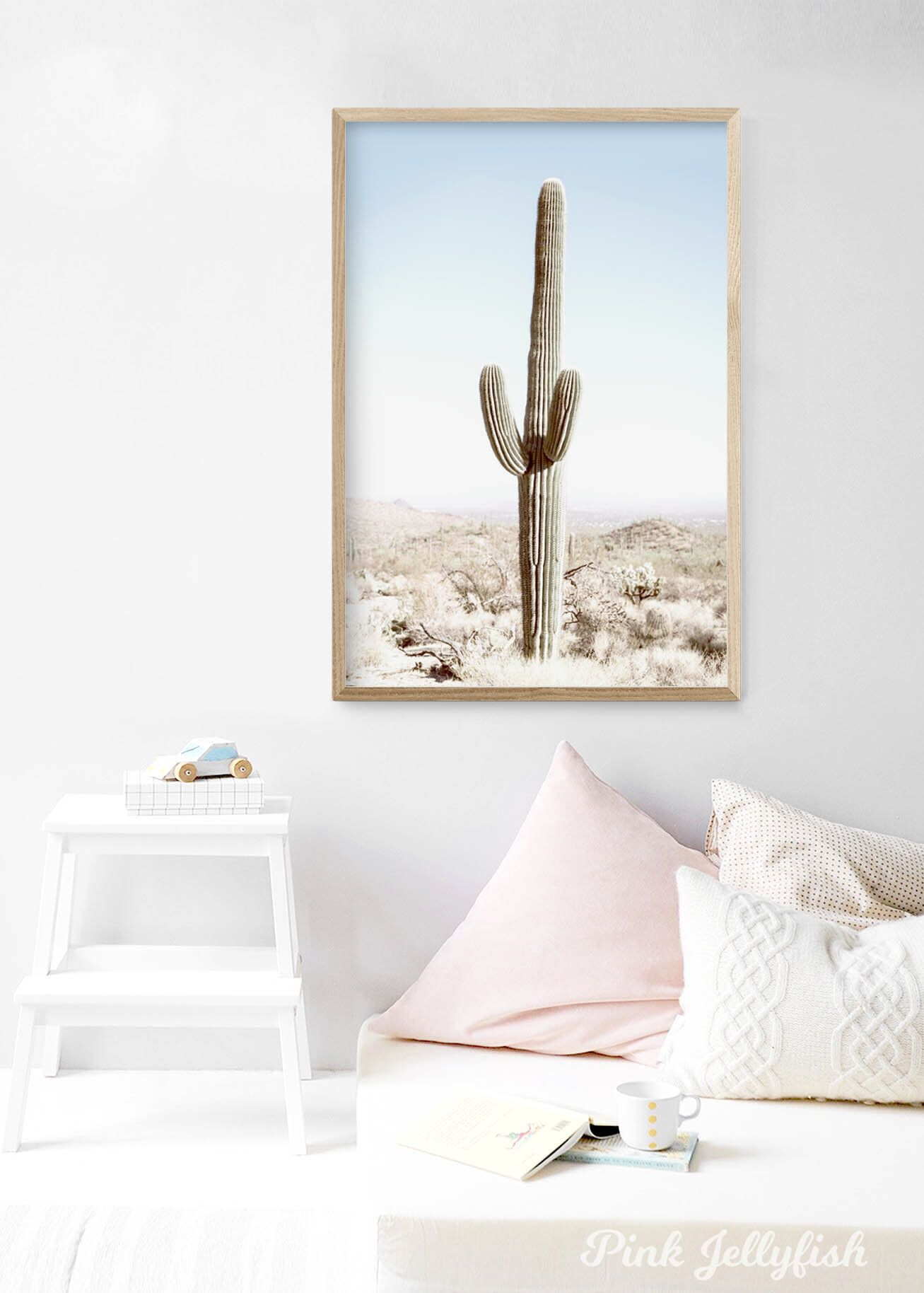 cactus wall art, cactus print, botanical print, cactus poster, desert print, Australia, cacti print, home decor is part of Cactus decor Hanging - 2uL7Zr4 Great care is taken to print your selected image, carefully roll and place in a very sturdy cardboard tube and ship direct to you