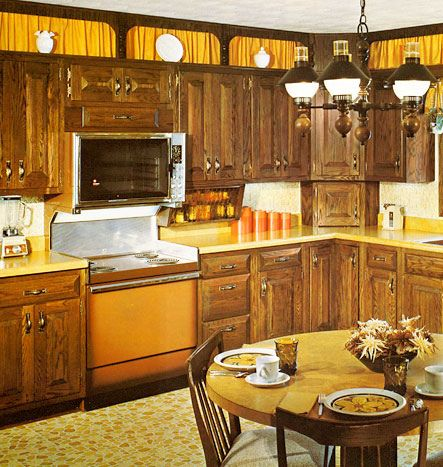 Kitchen Colors Of The 50 S 60 S And 70 S In 2019 70 S