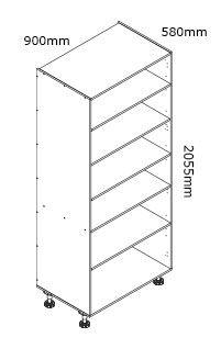 kaboodle flat pack kitchen 900mm pantry cabinet cupboard storage kitchen cabinets kitchen on kaboodle kitchen storage id=87830