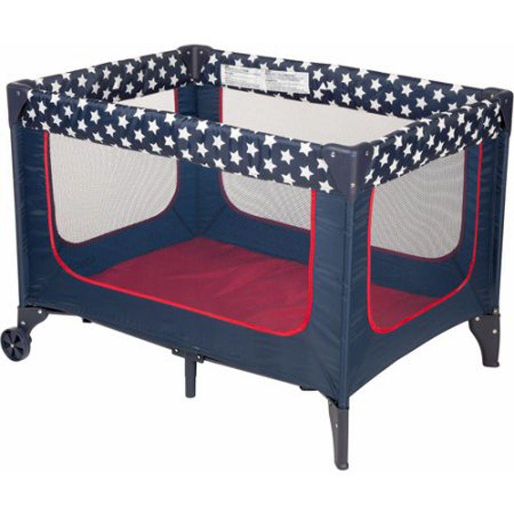 Light portable crib for babies - Baby Beds Crib Playpen Playard Kids Furniture Wheels Cosco Stars Lightweight New Portable