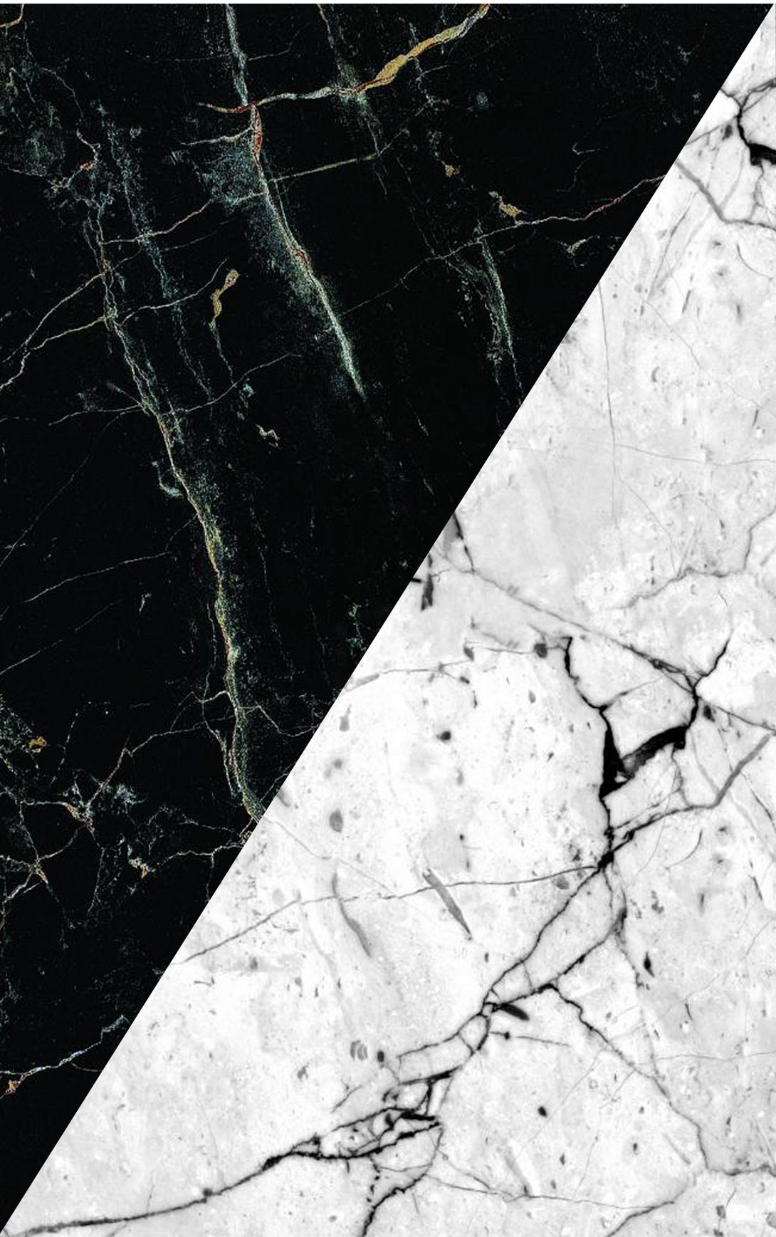 White Black Marble Iphone 6 Wallpaper Tumblr Sfondo Bianco E