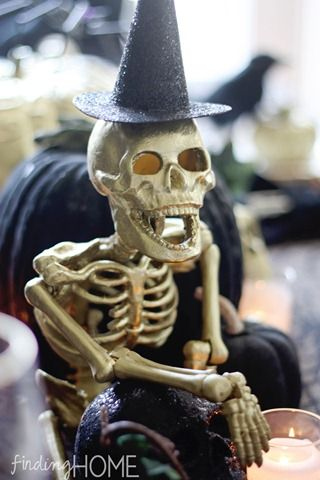 Easy Halloween Decorating Ideas Easy halloween, Skeletons and Easy