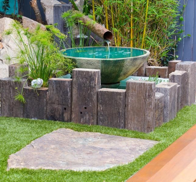 The Small Garden Brisbane Inner City Suburbs Water Features
