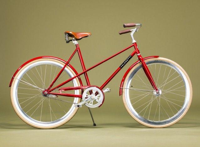Veloretti Caferacer Dakota Red Ciclismo Cafe Racer Bicicletta