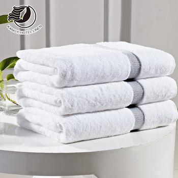 Wholesale White Luxury Used Hotel Bath Towels Set 100 Cotton