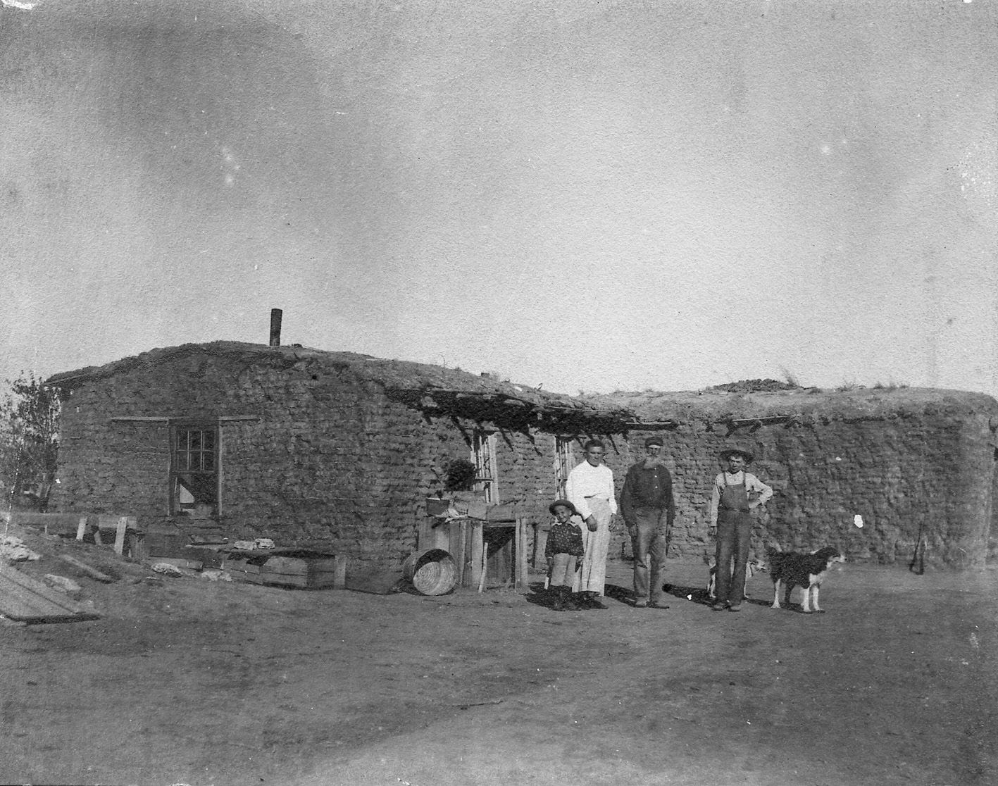 Sod House In Kansas Print Purchase In Oberlin Kansas Shorpy