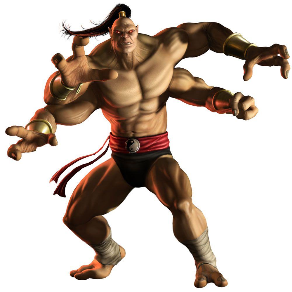 Goro Is A Character From The Mortal Kombat Fighting Game Series