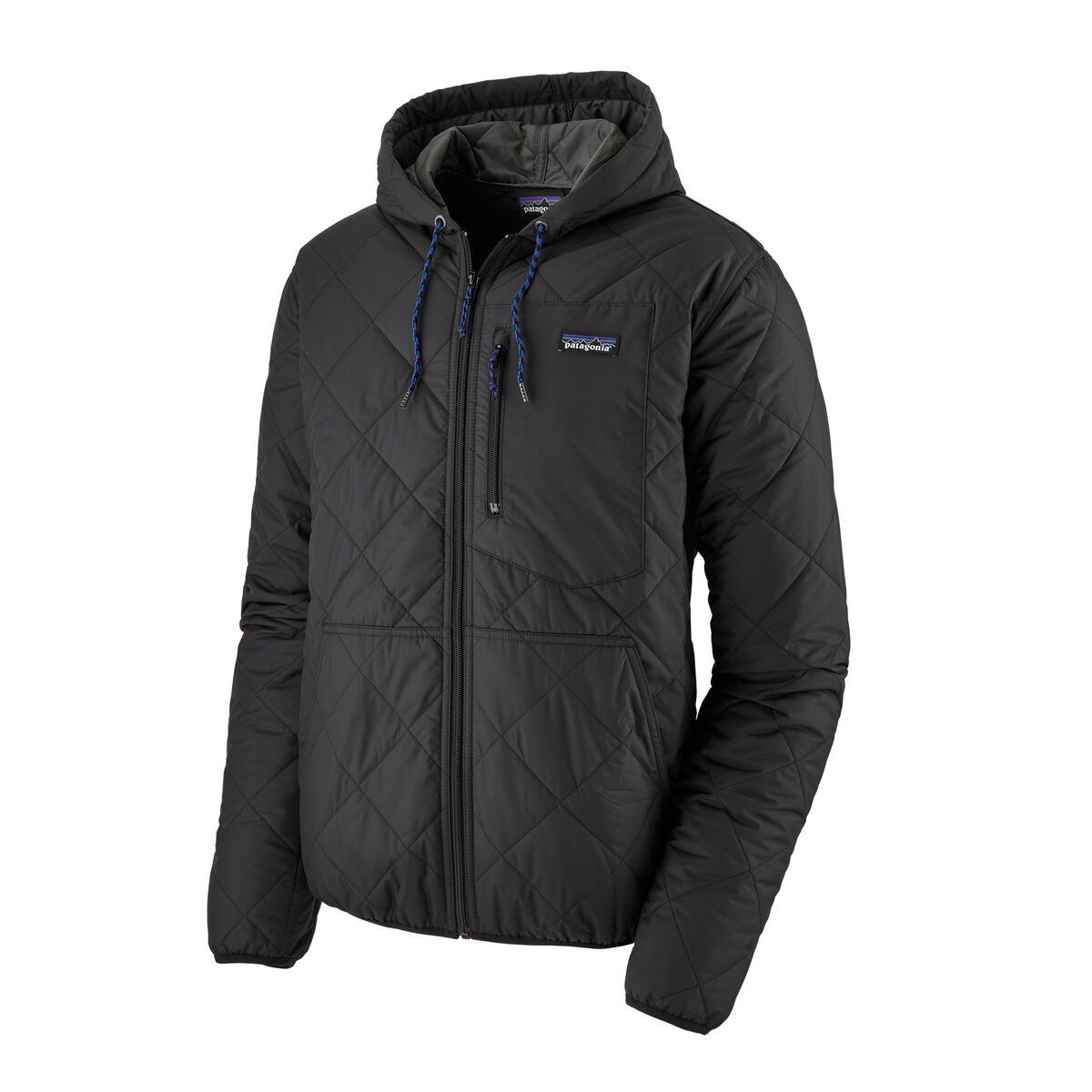Patagonia Men S Diamond Quilted Bomber Hoody Quilted Bomber Hooded Jacket Men Patagonia Mens [ 1200 x 1200 Pixel ]