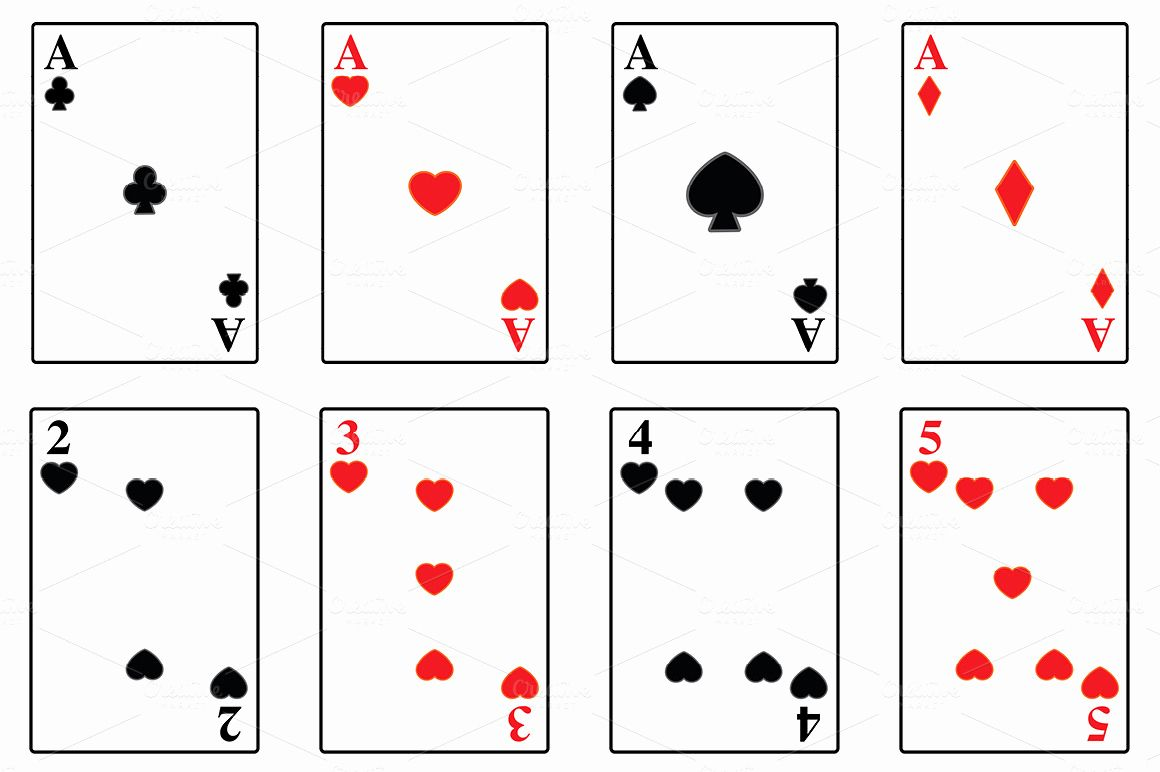 Free Printable Card Templates And Best S Of Playing Card Regarding
