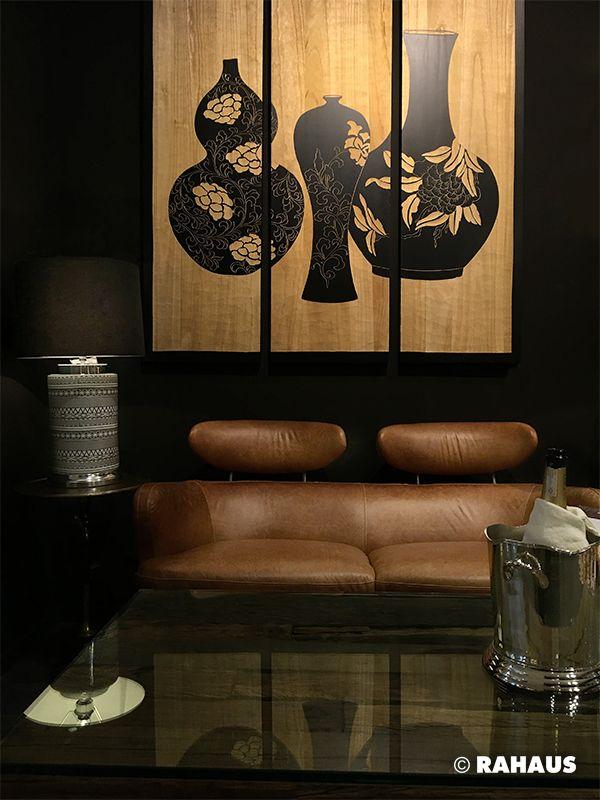 DARK SITE #Sofa #Stil #Berlin #RAHAUS #Teppich #Couchtisch - design mobel wohnzimmer