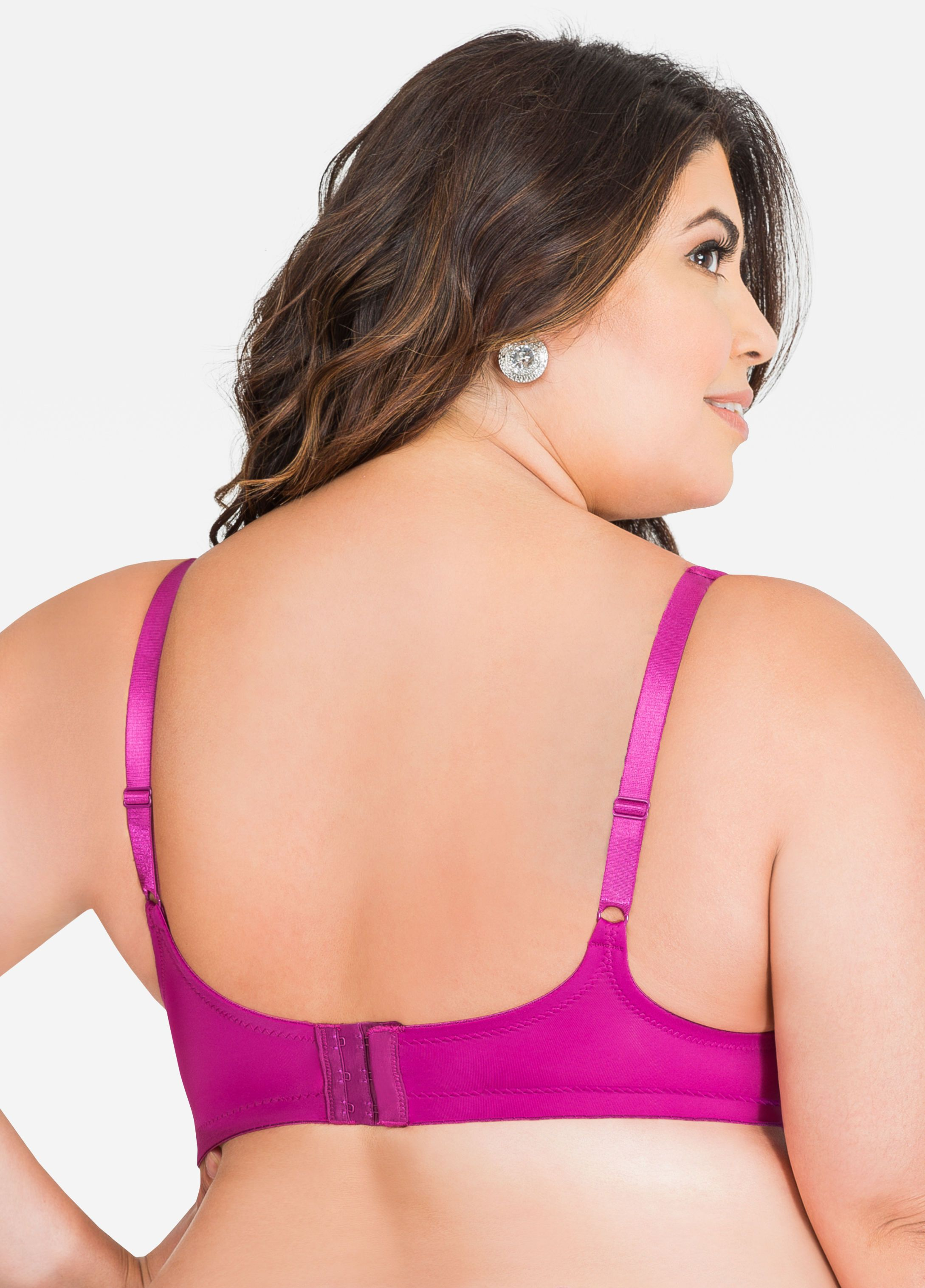77d996fc1552b No-Underwire Soft Cup Bra - Ashley Stewart