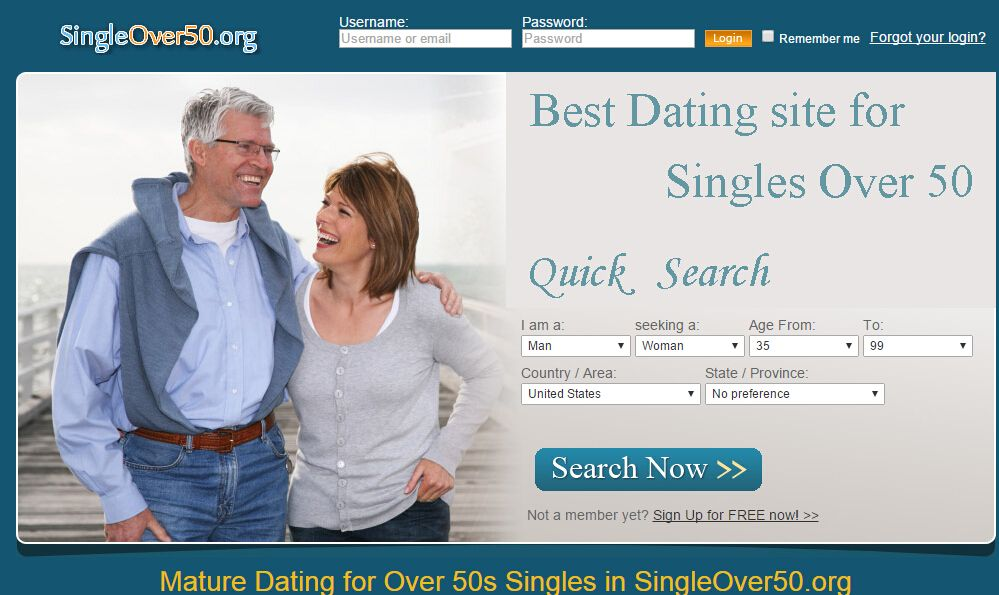 Best online dating sites for over 50s