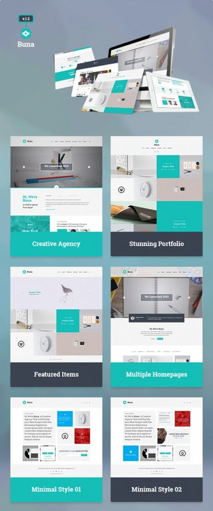 Free Download : Agency/Portfolio Template (PSD) | Branding