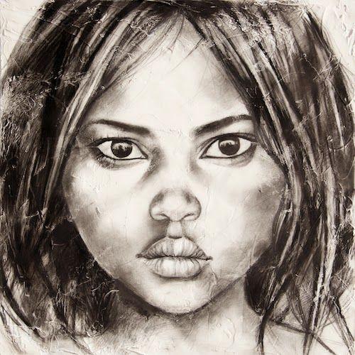 Stephanie Ledoux Carnets De Voyage Toiles Portrait Au Crayon
