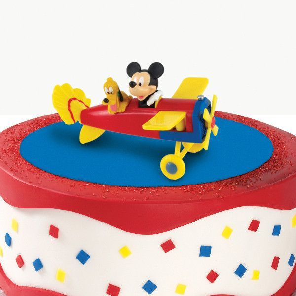 Disney Mickey Pluto Cake Topper Food And Amazing Cakes