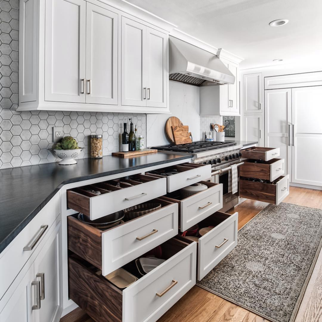 We Could Always Use More Storage Love This Kitchen