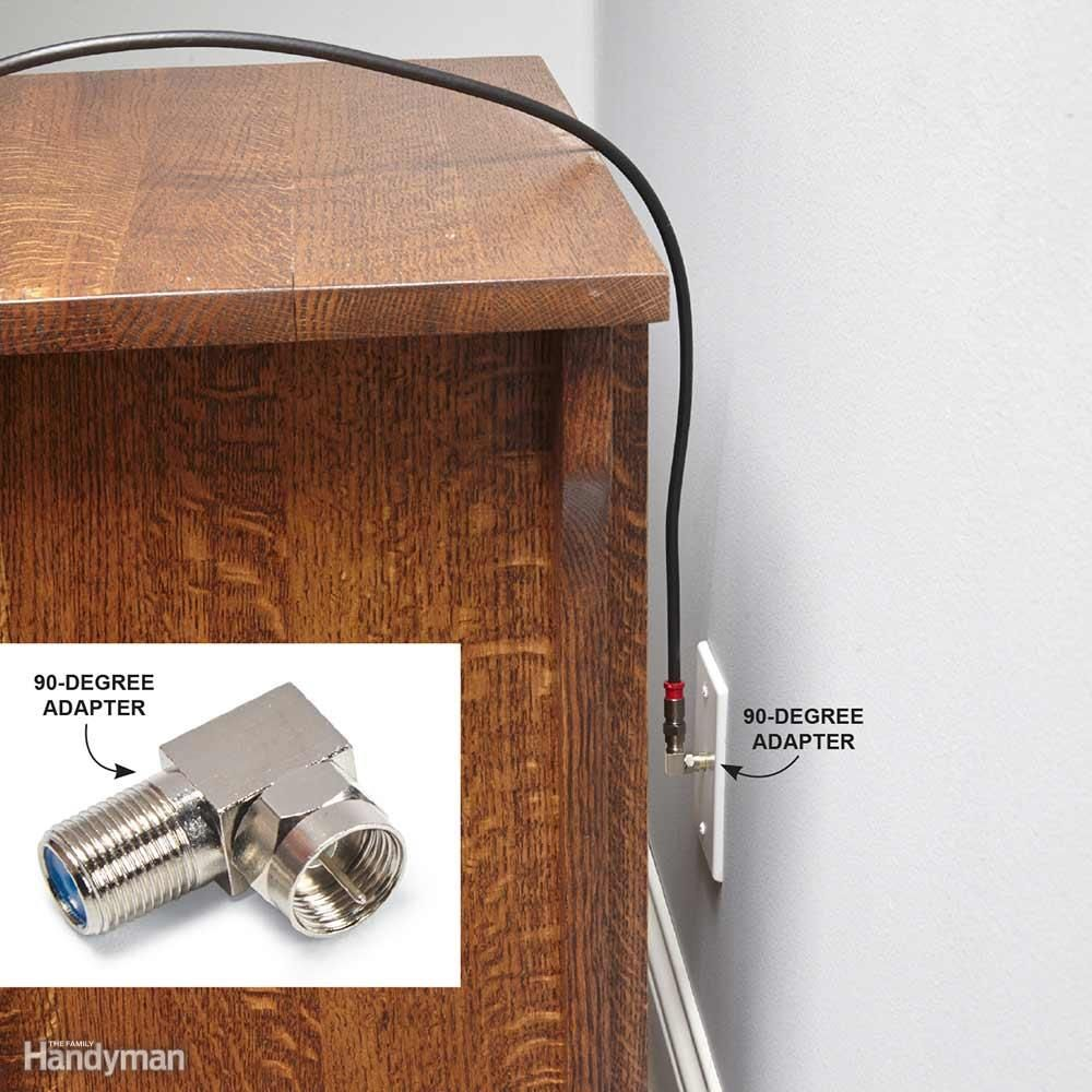 tips for coaxial cable wiring ideas for the house. Black Bedroom Furniture Sets. Home Design Ideas