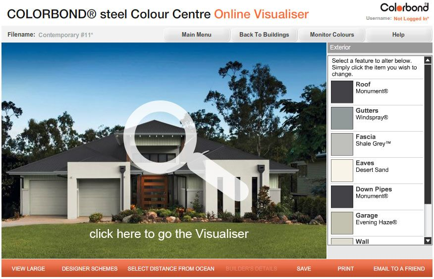 Image result for colorbond roof colour schemes roof pinterest roof colors exterior paint for Colorbond colour schemes exterior