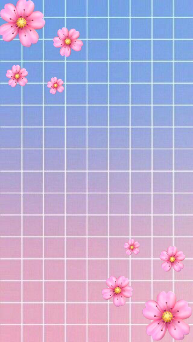 Pin Oleh Jocelyn Isabella Di Amazing Wallpapers Lukisan Flamingo Objek Gambar Latar Belakang Iphone flower emoji wallpaper