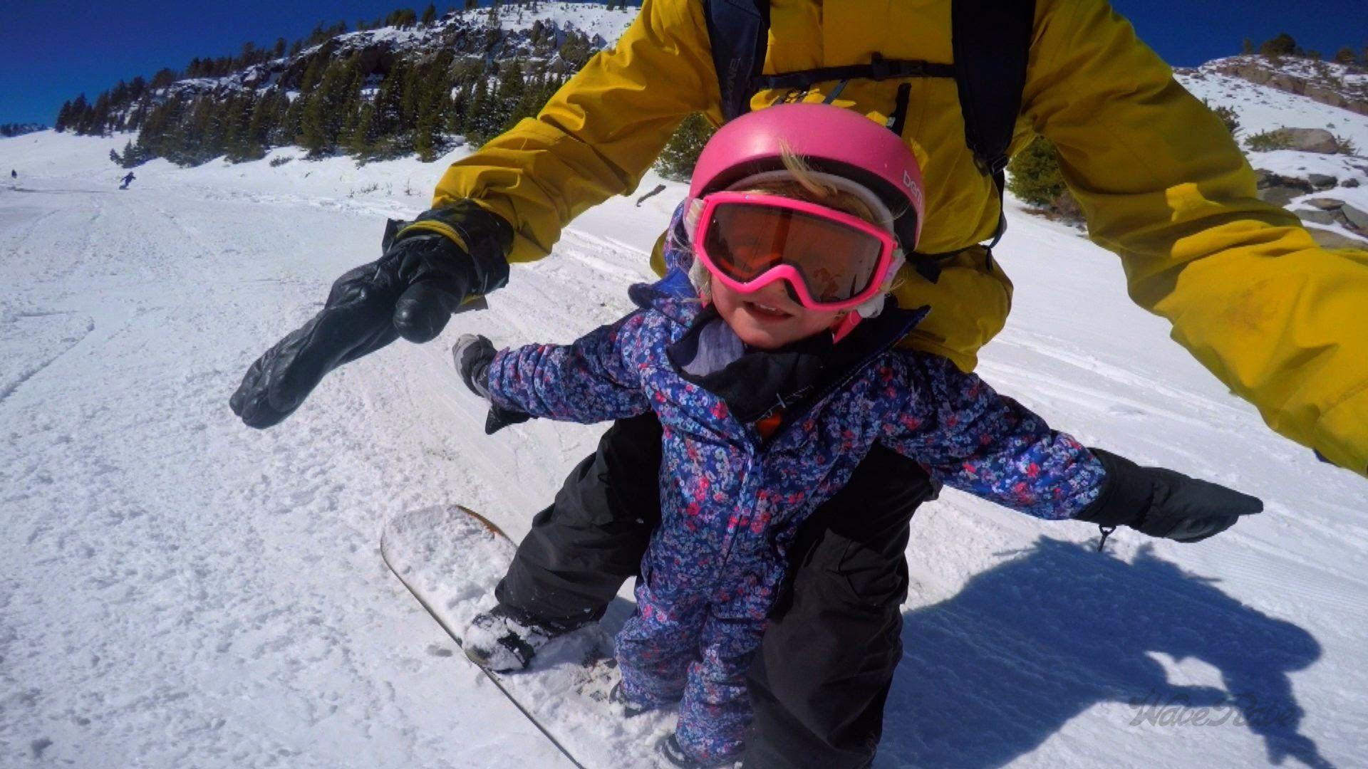 Tandem Snowboarding Friends Kids Snowboarding Snowboarding Snowboard