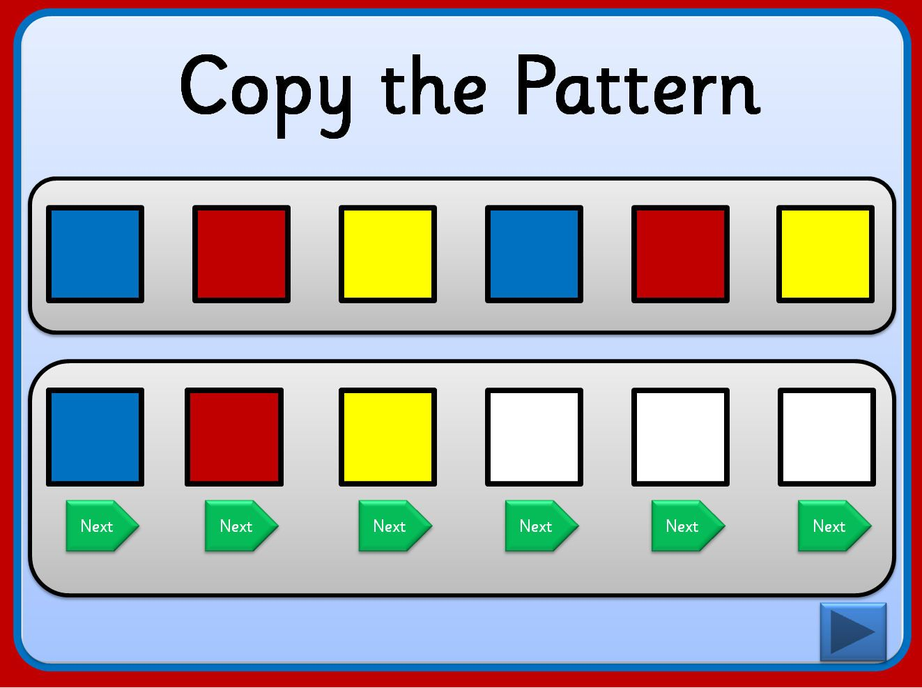 Simple Powerpoint Activity Where Pupils Use Action Buttons