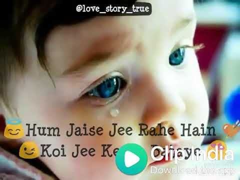 Aankhon Me Aansoo Leke Lyrics Whatsapp Status New Song 2018